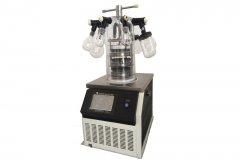 立式冷冻干燥机Scientz-12N 多歧管 0.08